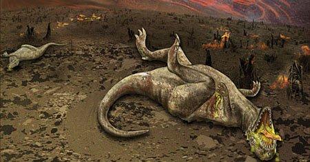 Когда динозавров не стало?
