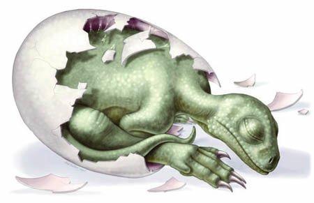 Динозавры и их забота о своем потомстве