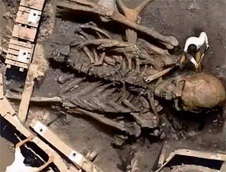 Люди гиганты: археологические раскопки