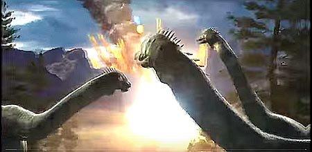Падение метеорита убившего динозавров и вулканы