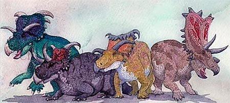 Цератопсы