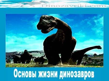 Жизнь динозавров на планете: основы