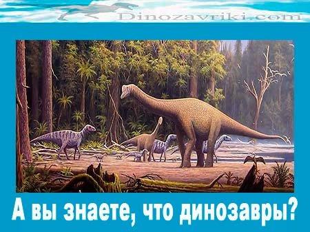 Интересные и познавательные факты о динозаврах