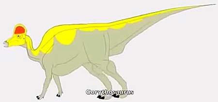 Необычные динозавры: коритозавр