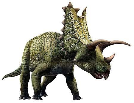 Необычные динозавры: пентацератопс