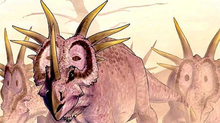 Вооруженный травоядный - стиракозавр
