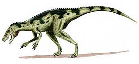 Когда жили динозавры: ставрикозавр
