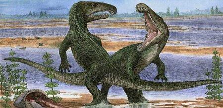 Когда жили динозавры: архозавр