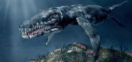 Самый большой хищный динозавр: вода
