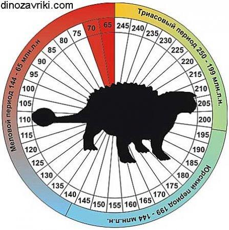 Динозавр анкилозавр: общая сводка