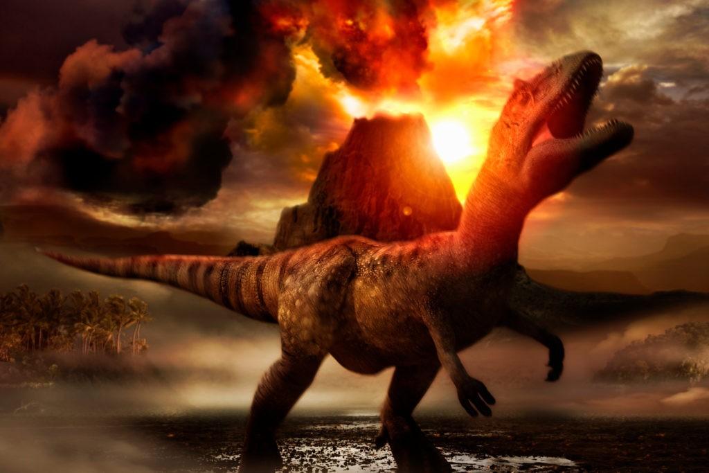 Смерть динозавров мучительна