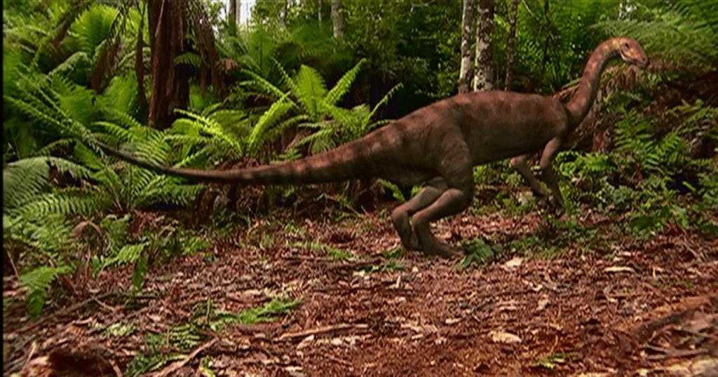 Анхизавр - травоядный динозавр
