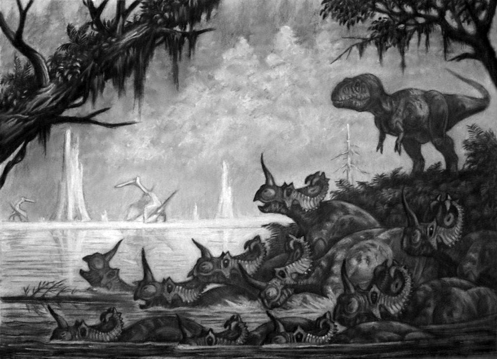 Жили ли динозавры стадом?