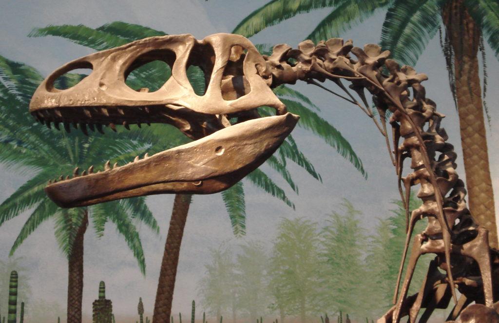 Мегалозавр - свирепый хищник