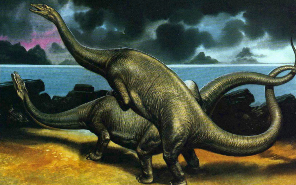 Секс у динозавров был и в подростковом периоде
