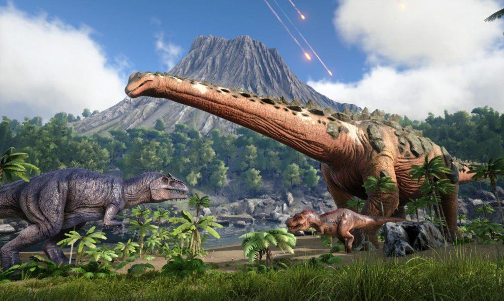 Титанозавр - гигантский динозавр