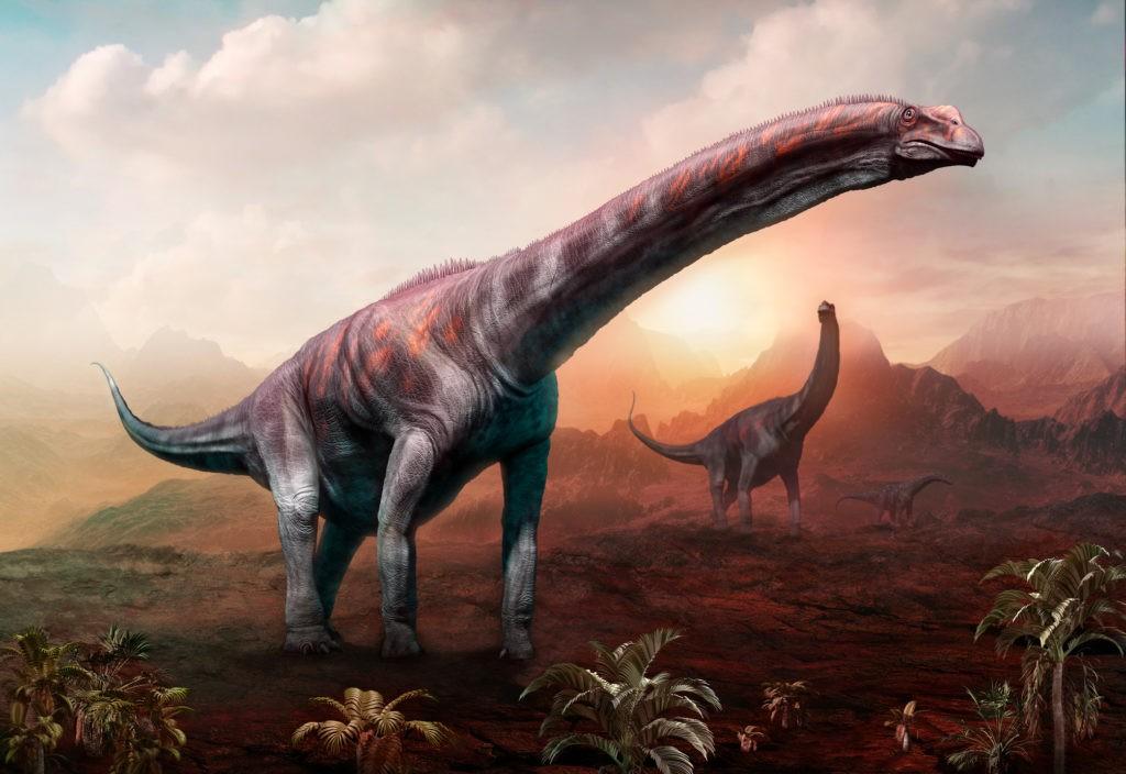 Самый большой хищный динозавр среди сухопутных, морских и летающих видов