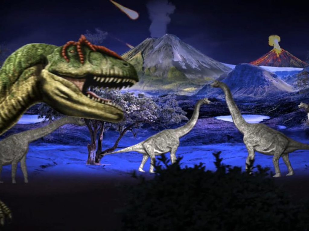 От чего вымерли динозавры и вымерли ли вообще?