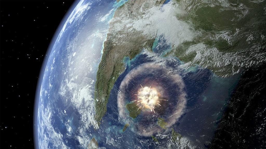 Место падения метеорита, убившего динозавров: события и вымирания