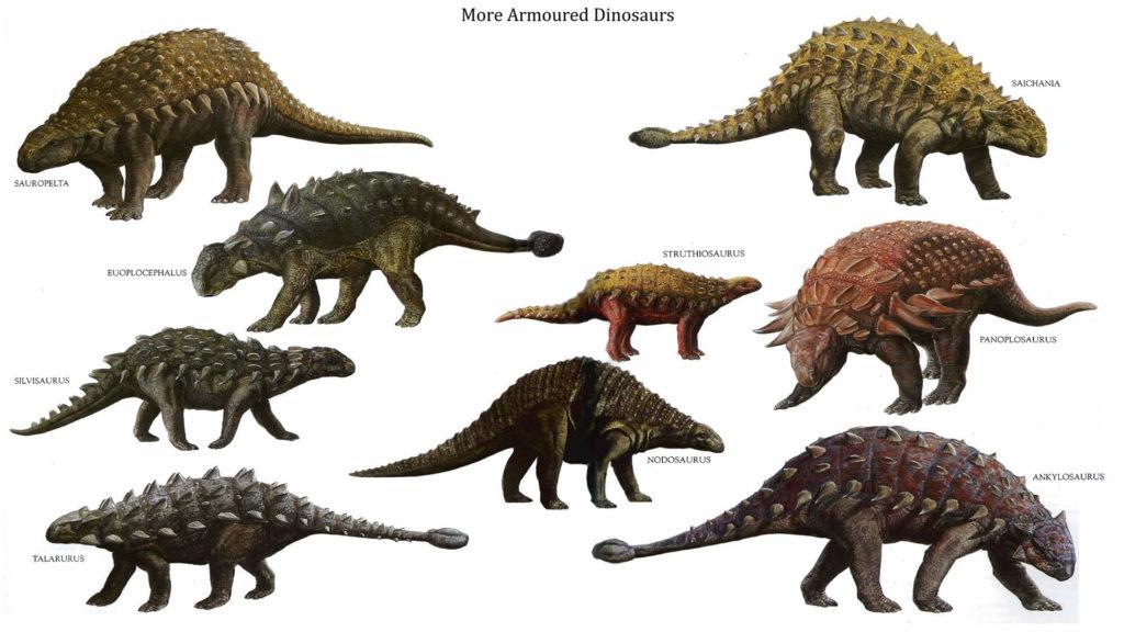 Бронированные динозавры