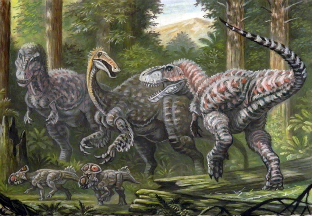 Тарбозавр: высота